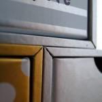 鈴木松風堂さんのVカット箱。エッジが美しい/冨山美紀作品
