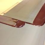 チョコレートでシルク印刷@大昇印刷(高木理恵作品)